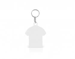 Pacote c/ 5 unid Chaveiro Inox Camiseta