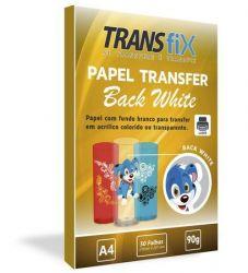 Papel Transfer Back White 50 folhas