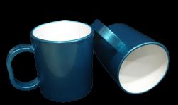Caneca Colorida de Polímero