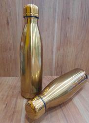 Garrafa Térmica Dourada 500ml