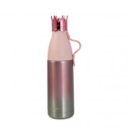 Garrafa Térmica Coroa Rosa 350ml