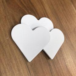 Imã Polímero Coração