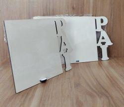 Atacado Porta Retrato MDF - Tema: PAI