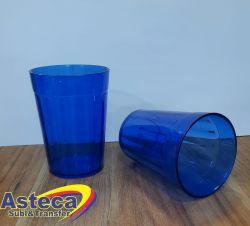 Copo Americano Acrilíco Azul Neon