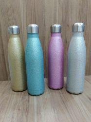 Garrafa Glitter Térmica Inox