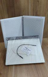 Agenda Pautada Capa Pet Para Sublimação - 13,5x18,5 cm
