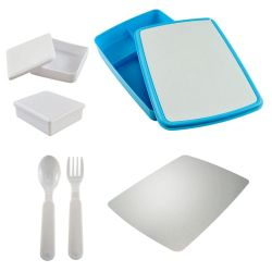 Marmita C/ Kit Infantil Azul